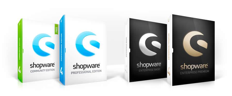 Shopware Versionsvergleich