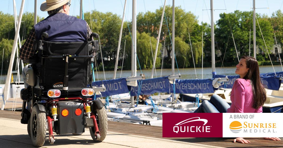 Silla de ruedas elctrica QUICKIE Tango  Sunrise Medical