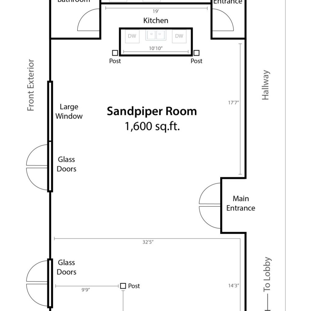 medium resolution of sandpiper room capacities