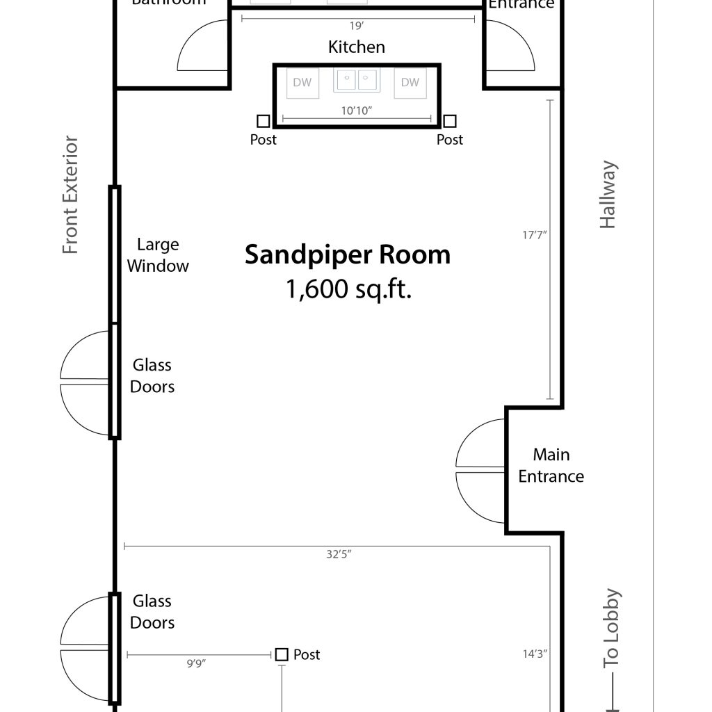 hight resolution of sandpiper room capacities