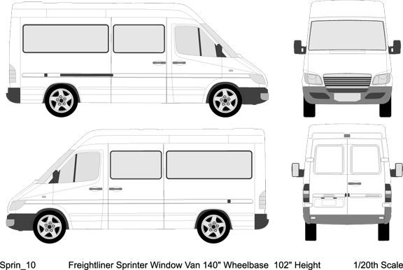 Truck Damage Inspection Diagram