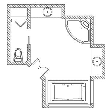 21 Bathroom Floor Plans For Better Layout