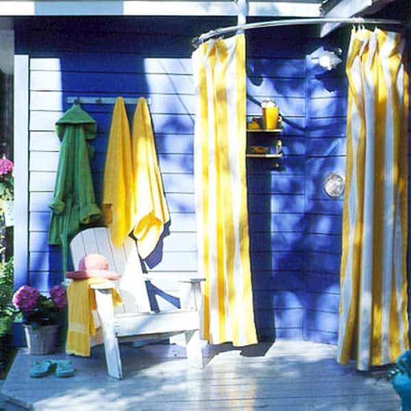 31 diy outdoor shower ideas you can try