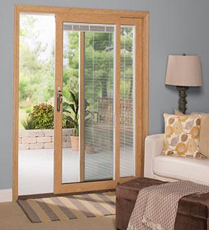 Sliding Patio Doors  Energy Efficient Sunrise Windows