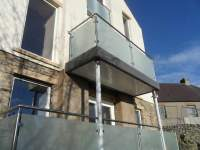 Glass & Stainless Steel Balcony - Sunrock Balconies