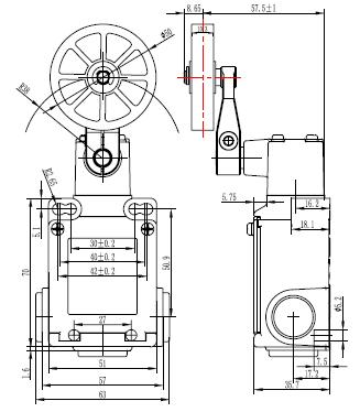 Suns Electric Industrial Limit Switches Manufacturer
