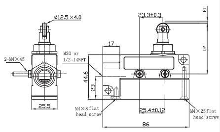 SUNS SN92-Q22-C 20A UL Cert Adj Roller Plunger Air Curtain