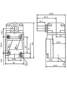 SUNS-HMS-1A/2A/3A-04A/B/N/D Heavy Duty Limit Switches