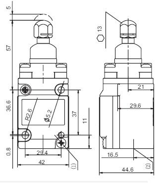 SUNS-HMS-1A-13 Heavy Duty Limit Switches