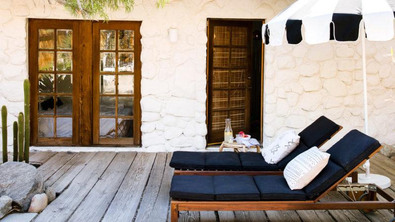 How to Design a Modern Desert AFrame House  Sunset Magazine