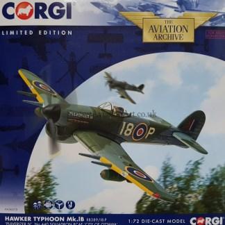 corgi AA36510 Hawker Typhoon Mk.IB