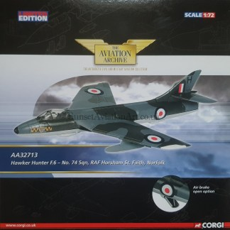 AA32713 Hawker Hunter Corgi