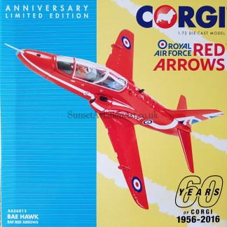 corgi AA36012 RAF Red Arrows