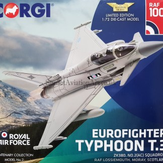 corgi AA36409 Eurofighter Typhoon