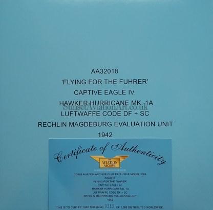 Corgi AA32018 Hawker Hurricane