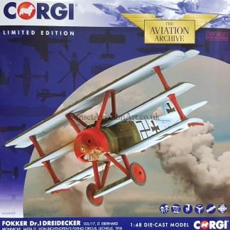Corgi AA38307 Fokker DR.1