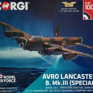 corgi AA32625 Lancaster