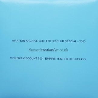 Vickers Viscount 700 Corgi AA30509