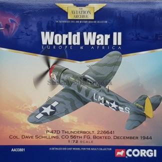 AA33801 Corgi P-47 D Thunderbolt