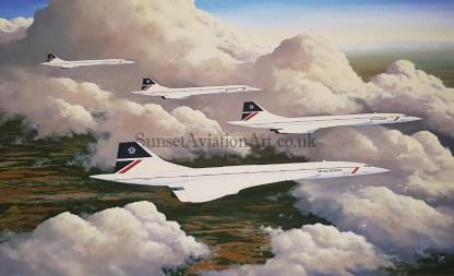 Cloud Companions Concorde