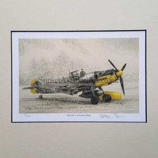 Me 109 E 4 of Adolf Galland