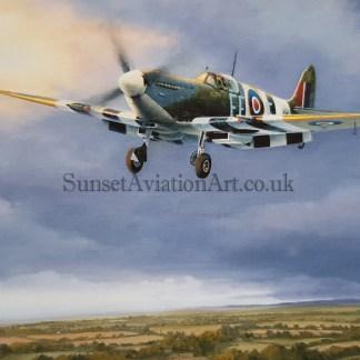 On Final Approach-Spitfire