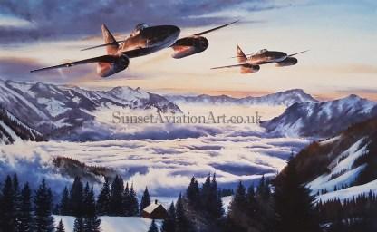 Stormbird Sunrise-Me 262