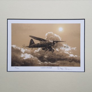 Lysander by Moonlight-Stephen Brown pencil print