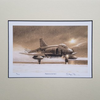 Phantom in the Snow (Stephen Brown Aviation Artist)