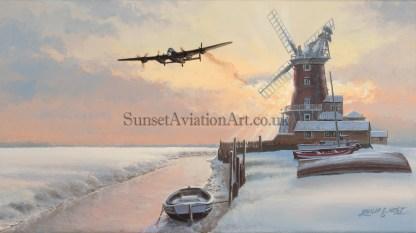 Avro Lancaster Legend xmas card