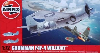 A02070 Airfix Grumman F4F-4 Wildcat
