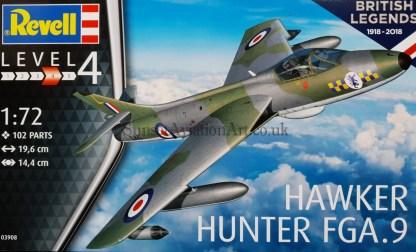 03908 Revell Hawker Hunter FGA 9