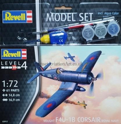 03917 Revell Vought F4U-1B Corsair Royal Navy
