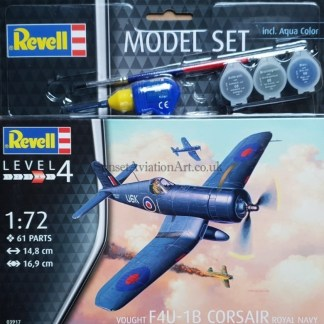 03917 Revell Vought F4U-1B Corsair Royal Navy