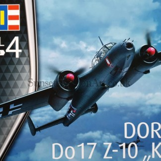 03933 Revell Dornier Do17 Z-10 KAUZ
