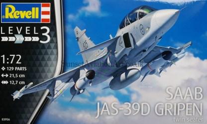 03956 Revell SAAB JAS-39D Gripen
