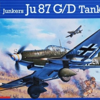 04692 Revell Junkers Ju 87 G D Tank buster