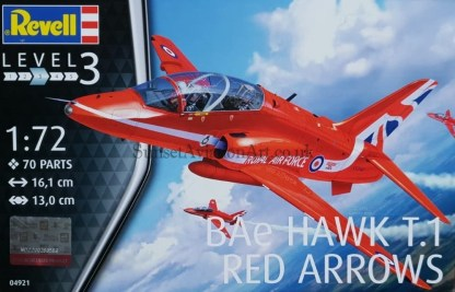 04921 Revell Bae Hawk T.1 Red Arrow