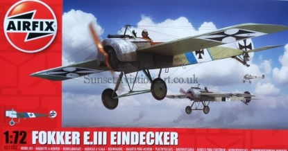 A01087 Airfix Fokker E III Eindecker