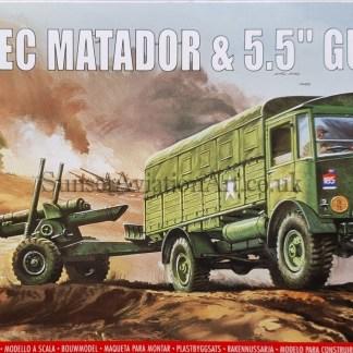 A01314V Airfix AEC Matador and 5.5 inch Gun