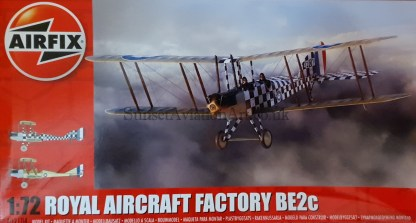 A02104 Airfix Royal Aircraft Factory BE2c