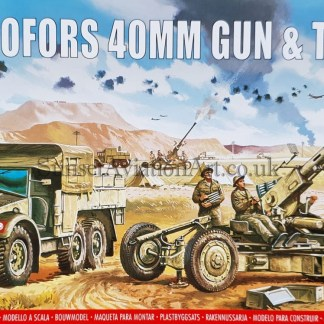 A02314V Airfix Bofors 40mm Gun and Tractor