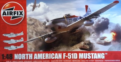 A05136 Airfix North American F51D Mustang