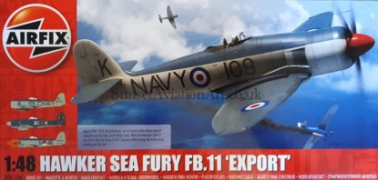 A06106 Airfix Hawker Sea Fury FB.11 Export