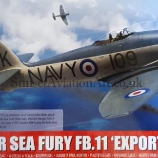 A06106 Airfix Hawker Sea Fury FB.11 Export