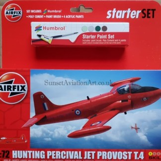 A55116 Airfix Hunting Percival Jet Provost T.4