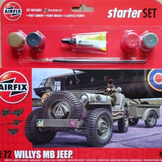 A55117 Airfix Willys MB Jeep