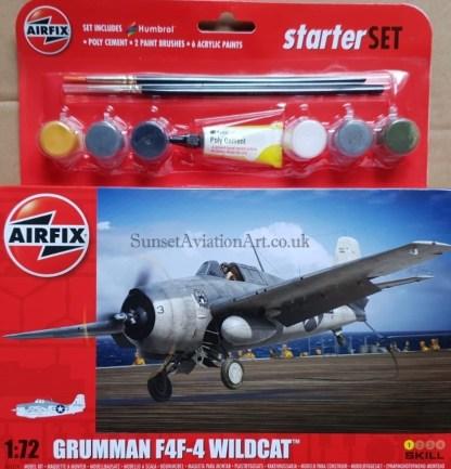 A55214 Airfix Grumman F4F-4 Wildcat