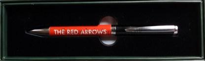 red arrow pen.