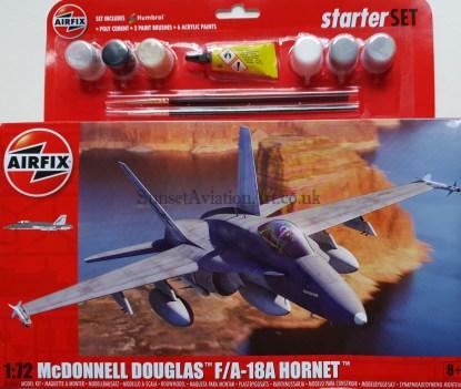A55313 Airfix Mcdonnell Douglas F18 A Hornet